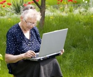 Illustration de l'article Les seniors envahissent le net