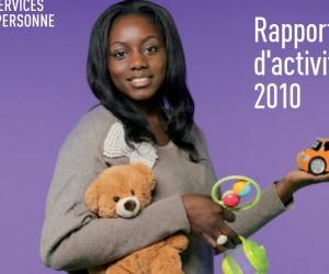 Illustration de l'article Rapport d'activité 2010 des services à la personne