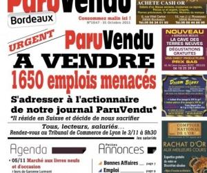 Illustration de l'article Liquidation judiciaire pour Paru Vendu