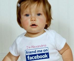 Illustration de l'article 3 bébés français sur 4 sont déjà présents sur des sites Internet.