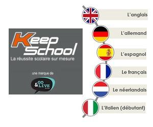 Illustration de l'article Apprendre des langues en e-learning avec Keepschool