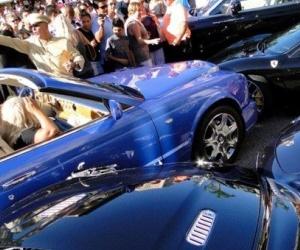 Illustration de l'article A Monaco, une Bentley emboutit une Aston Martin, une Mercedes, une Porsche et une Ferrari