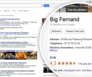 Illustration de l'article Google supprime les liens vers les pages Google + et les avis