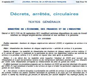 Illustration de l'article Deux nouveaux décrets pour les agréments des services à la personne