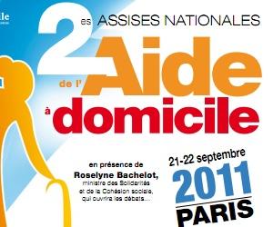 Illustration de l'article Deuxièmes Assises de l'aide à domicile à Paris les 21 et 22 septembre 2011