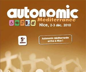 """Illustration de l'article Le salon du handicap """"Autonomic"""" à Nice les 2 et 3 décembre"""