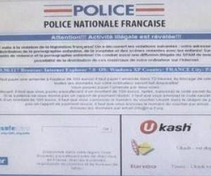 Illustration de l'article Virus Police Nationale Française