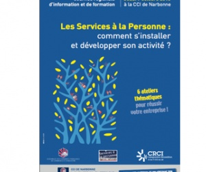 Illustration de l'article Conseils pour les entreprises de services à la personne à la CCI de Narbonne le 7 octobre