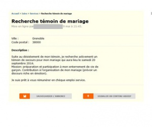 Illustration de l'article Témoin de mariage payé en CESU