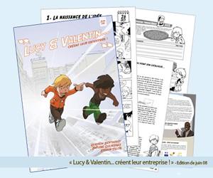 Illustration de l'article Lucy et Valentin créent leur entreprise