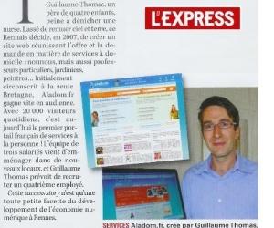 Illustration de l'article [L'Express.fr] Rennes, Capitale Numérique