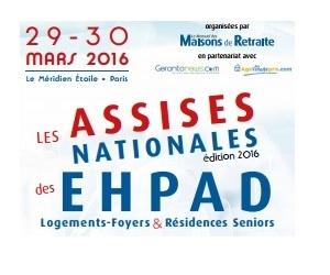 Illustration de l'article Les 29 et 30 mars 2016 auront lieu les assises de l'EHPAD