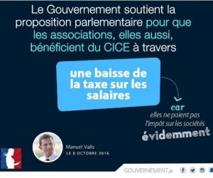 Illustration de l'article Manuel Valls annonce la création d'un crédit d'impôt pour les associations