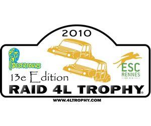 Illustration de l'article aladom participe au 4L Trophy
