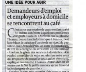 Illustration de l'article [La Croix] Demandeur d'emploi et employeurs se rencontrent