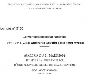 Illustration de l'article Nouveaux salaires pour les emplois en direct dans les services à la personne