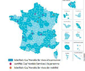 Illustration de l'article Cap'Handéo certifie 12 nouvelles structures