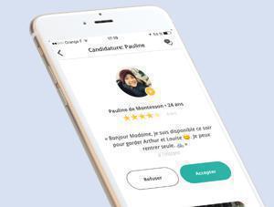 Illustration de l'article Baby sittor pousse à utiliser son application mobile