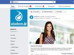 "Illustration de l'article Facebook lance des ""Offres d'emploi"" en France"