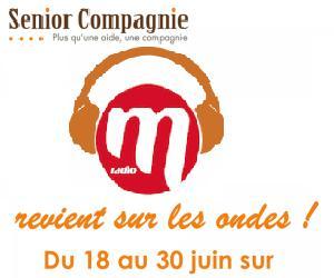 Illustration de l'article Senior Compagnie sera sur les ondes de M Radio cet été