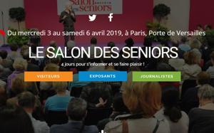 Illustration de l'article Le Salon des Seniors se tiendra à Paris du 3 au 6 avril 2019