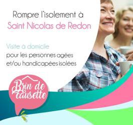 Illustration de l'article «Brin de causette»: Nouveau dispositif de visites à domicile pour  les personnes isolées sur Saint Nicolas de Redon