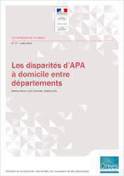 Illustration de l'article ETUDE DE LA DREES : LES DIFFERENCES TERRITORIALES CONCERNANT LA DISTRIBUTION DE L'APA