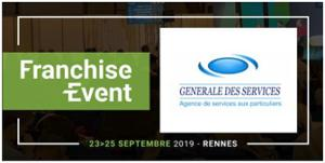 Illustration de l'article Générale des Services au salon Franchise Event à Rennes