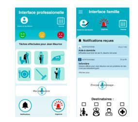 Illustration de l'article Un cahier de liaison numérique pour les services à la personne