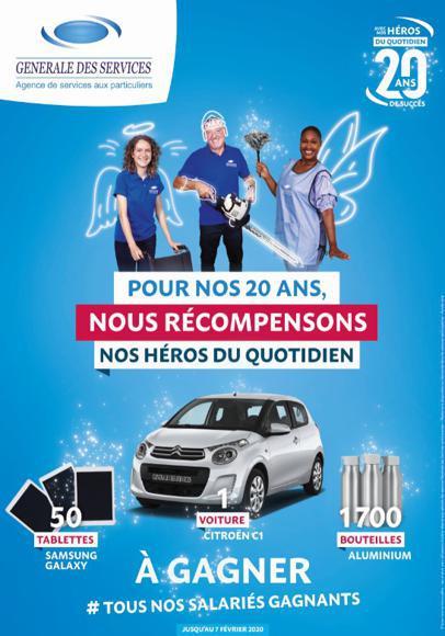 Illustration de l'article Générale des Services offre une voiture à un de ses salariés