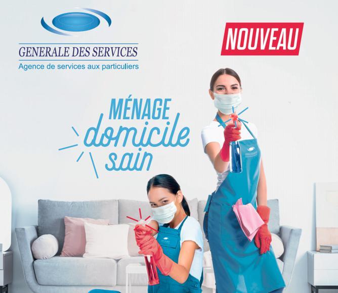Illustration de l'article Générale des Services lance un nouveau service exclusif ménage « Domicile Sain »
