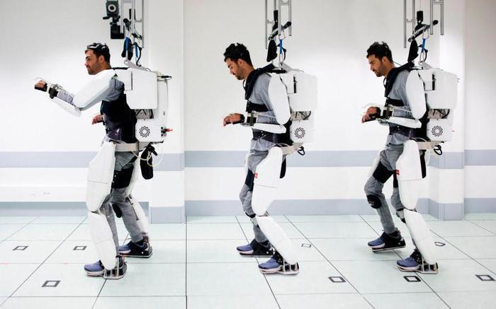 Illustration de l'article A Grenoble Clinatec met au point un exosquelette