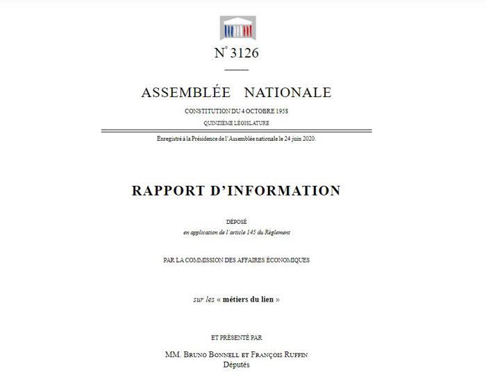 Illustration de l'article François Ruffin et Bruno Bonnell remettent un rapport sur les métiers du lien