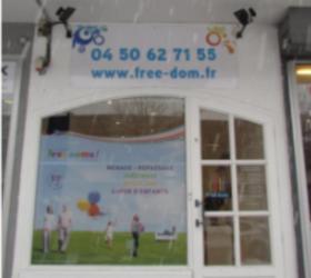 Illustration de l'article Free Dom ouvre sa première agence en Haute-Savoie