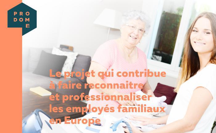 Illustration de l'article Projet PRODOME Erasmus+ : analyse du métier d'employé familial