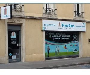 Illustration de l'article Le réseau Free Dom ouvre une agence à Nancy
