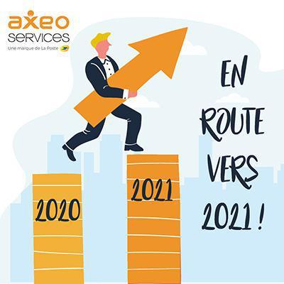 Illustration de l'article AXEO Services termine 2020 sur les chapeaux de roue