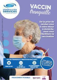 Illustration de l'article Le réseau Générale des Services aide les plus de 75 ans à se faire vacciner