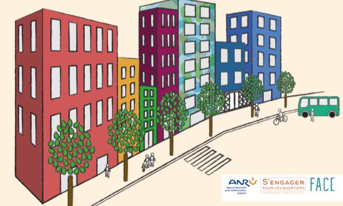 Illustration de l'article 15 projets retenus pour le concours « S'ENGAGER POUR LES QUARTIERS »