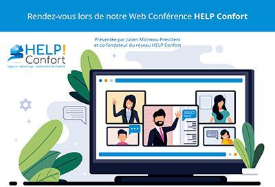 Illustration de l'article Webconférence de présentation du réseau Help Confort le 4 mars de 15h à 17h