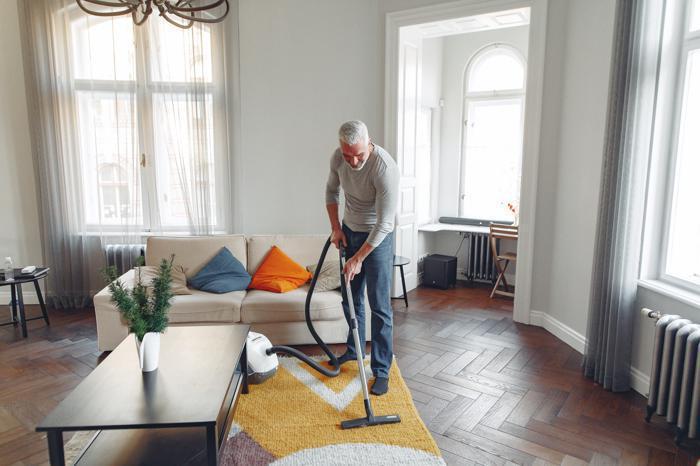 Illustration de l'article Et pourquoi pas un homme pour faire le ménage ?