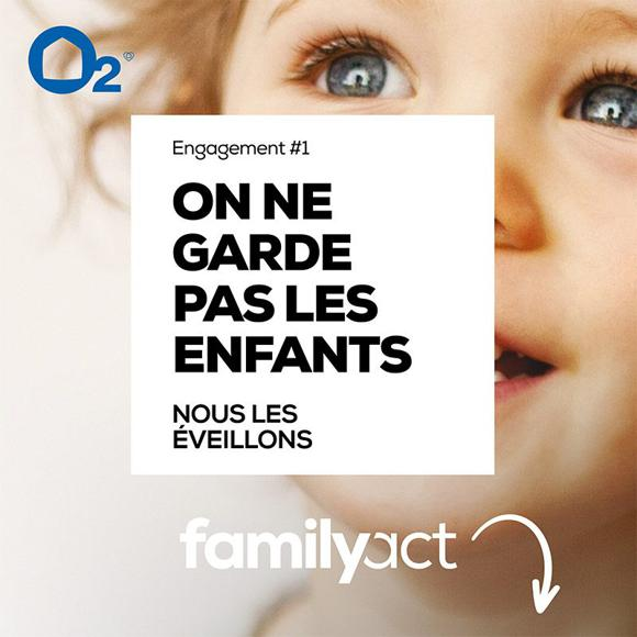 Illustration de l'article Avec FamilyAct, O2 s'engage auprès des familles pour veiller à l'éveil des enfants