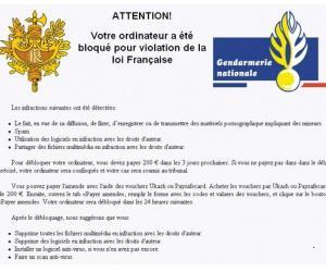 Illustration de l'article Comment supprimer le virus gendarmerie ?