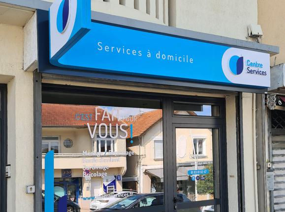 Illustration de l'article Nouvelle vitrine pour l'agence Centre Services de Sainte-Geneviève-des-Bois
