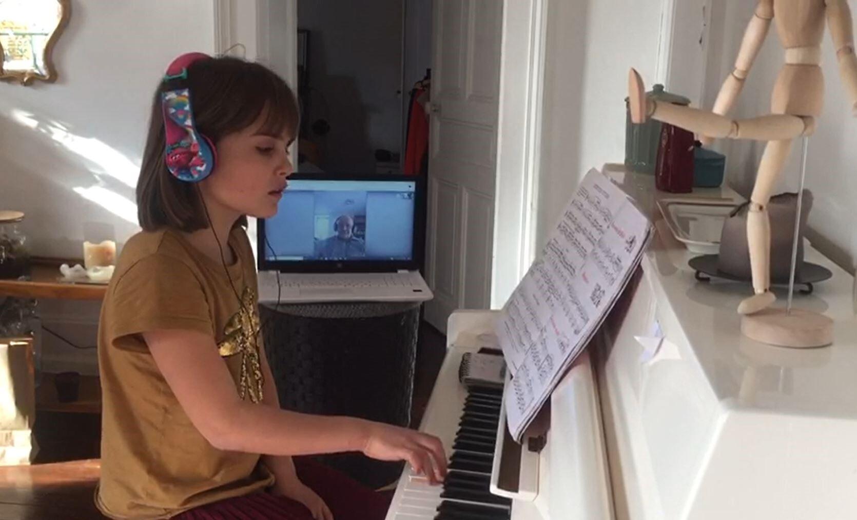 Cours de musique à distance avec Allegro
