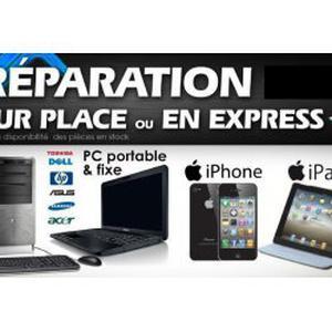 Réparation / Assistance Informatique,Iphone,Ipad