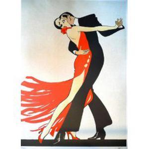 Danseuse professionnelle de tango argentin donne cours particuliers