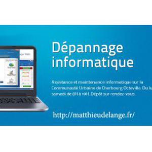 Dépannage informatique DEVIS GRATUITS Equeurdreville / Cherbourg-Octeville/ Tourlaville...