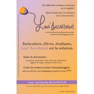 Cours de soutien français/anglais