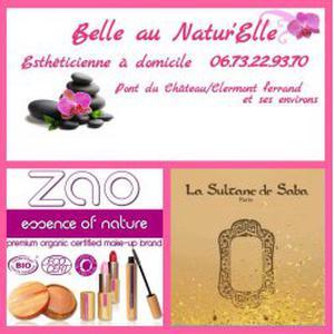 Belle au Natur'Elle-Esthéticienne à domicile 63 Clermont Ferrand